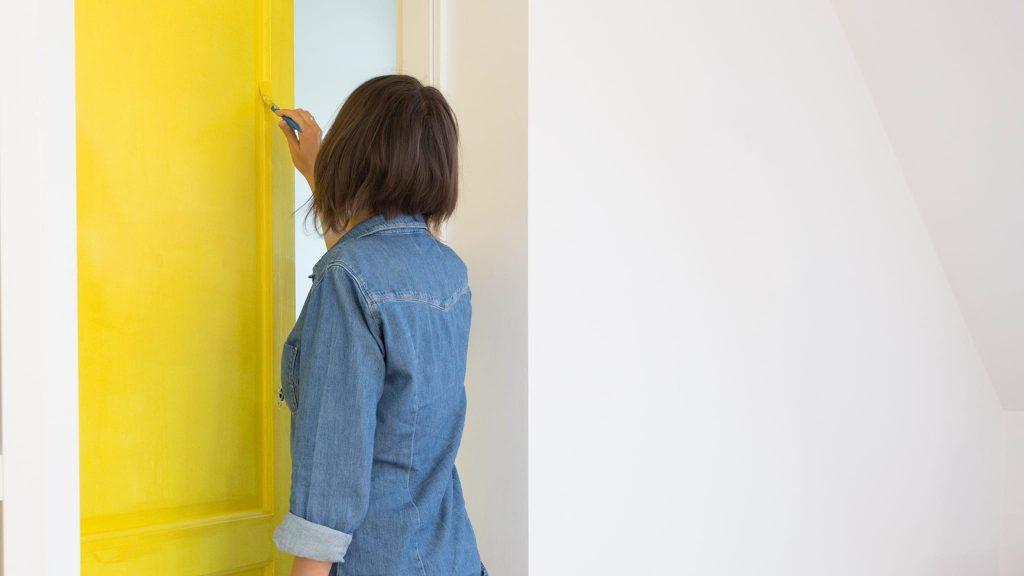 Jak pomalować drzwi