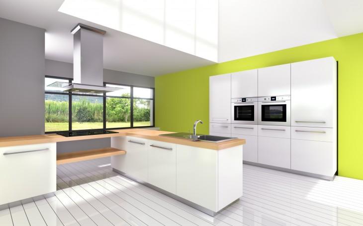 Jaką farbą pomalować kuchnię?