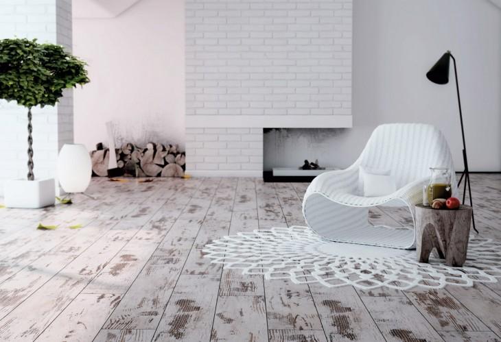 Panele Płytki Wykładziny Doskonała Imitacja Drewna