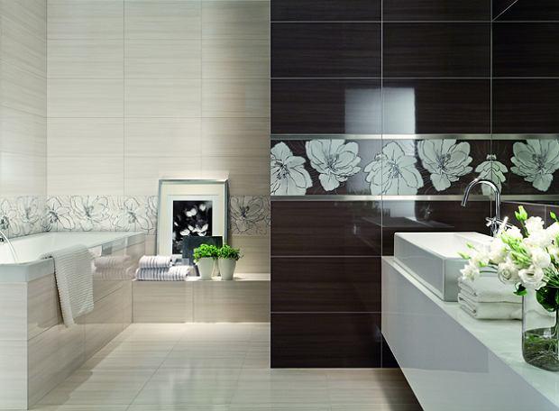 Metalowe listwy dekoracyjne do łazienki