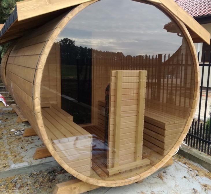 Aktualne Sauna ogrodowa EY51