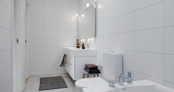 Modna łazienka – cała w bieli