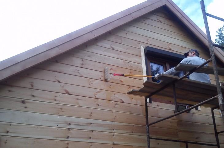 Zabezpieczenie drewnianej elewacji przed zimą