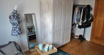 Manekin krawiecki w roli dekoracji wnętrza