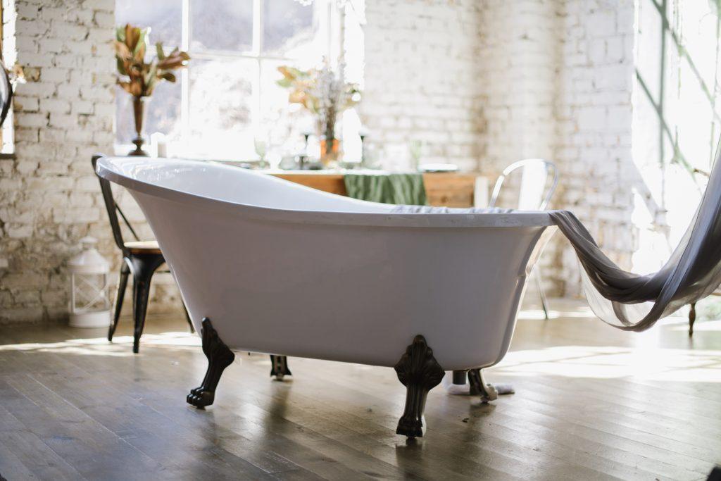 O wabi-sabi tym razem w łazience