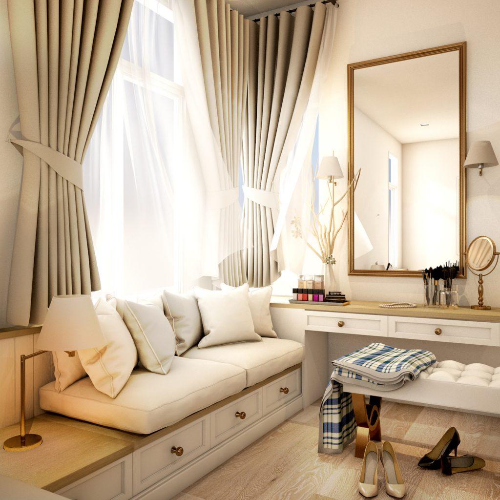 Toaletka kosmetyczna dla pani domu