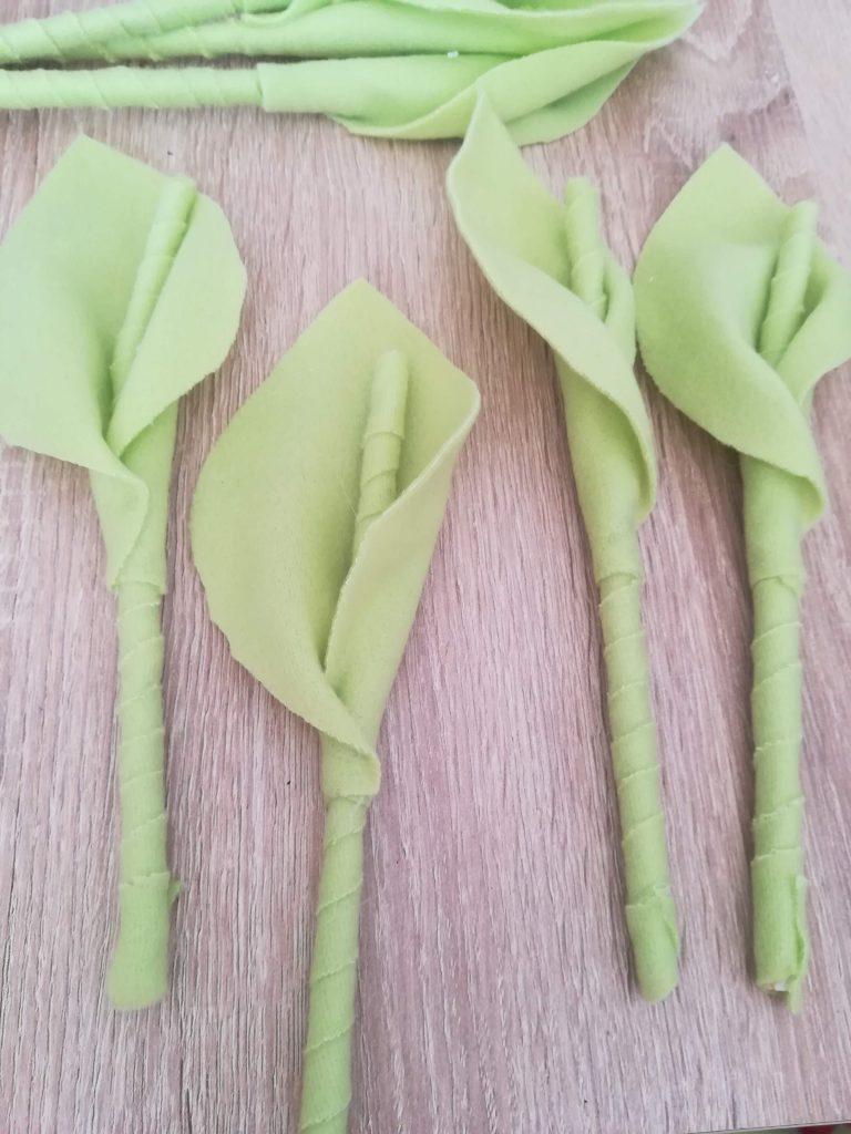 Tulipany z materiału – jak zrobić