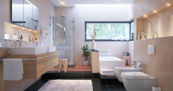 Oświetlenie łazienki z zasadami