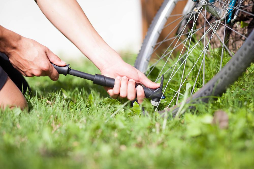 Pompka rowerowa ręczna