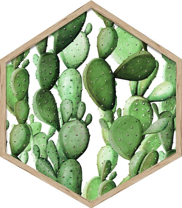 Obrazy heksagonalne od Knor