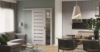 Drzwi w małym mieszkaniu