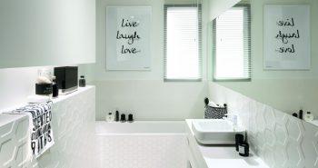 Płytki w łazience na odpowiedniej wysokości
