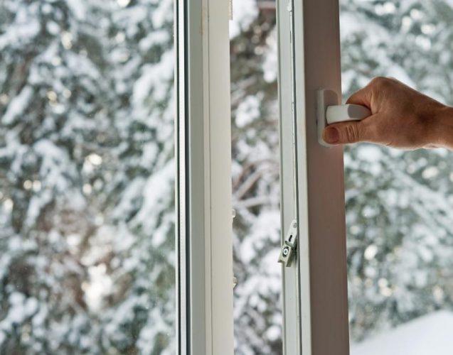 Mikroklimat w domu zimą