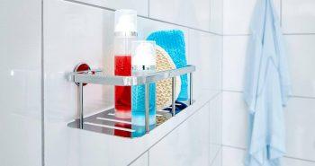 Półka pod prysznic – miejsce na kosmetyki