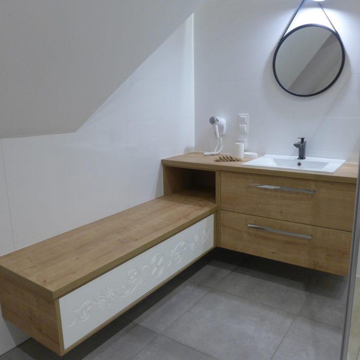 Siedzisko w łazience