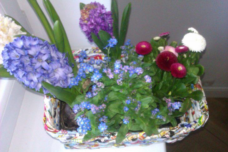 Wiosenne kwiaty w domowych dekoracjach