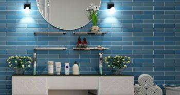 Okrągłe lustro w łazience – dekoracyjny detal