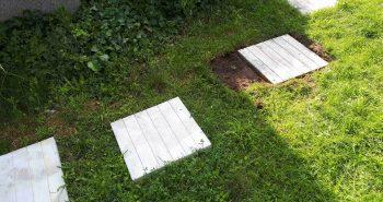 Ścieżka z płyt betonowych – samodzielne wykonanie
