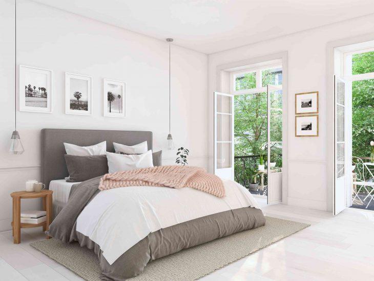Komfortowe łóżko kontynentalne