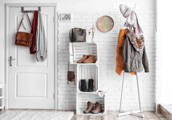 Strefa wejścia – ubrania i buty wychodzą z ukrycia!
