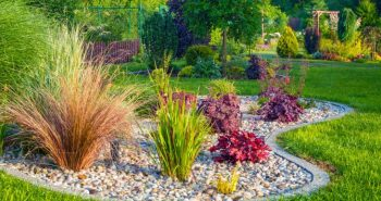 Rabata żwirowa w przydomowym ogrodzie