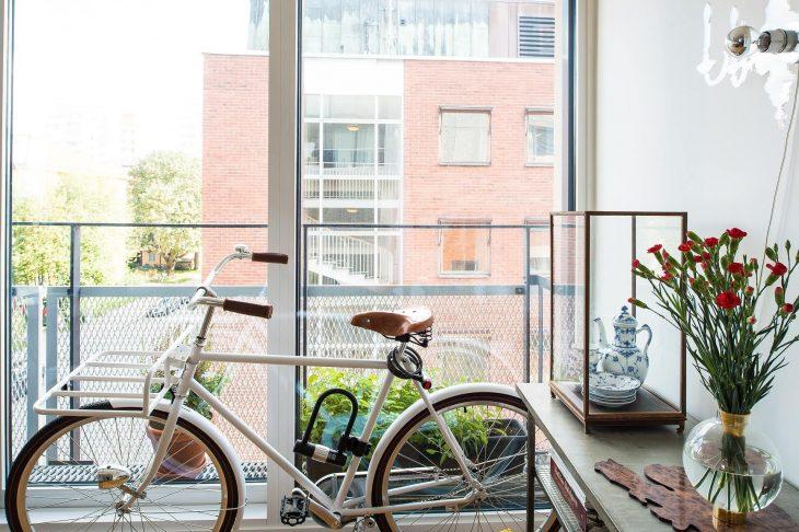 Jak przechowywać rower na balkonie