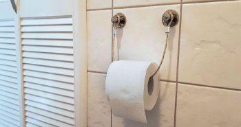 Industrialny uchwyt na papier toaletowy – DIY