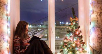 Okno na święta Bożego Narodzenia