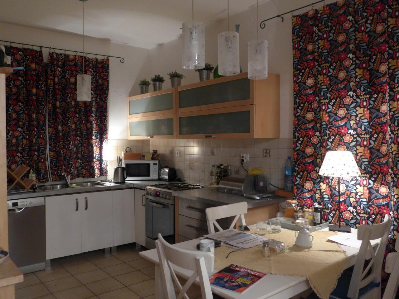 Zaslony do kuchni