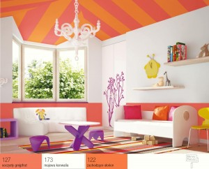 Na jaki kolor pomalować sufit