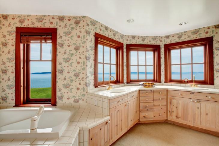 Tapety do kuchni i łazienki – jakie kupić