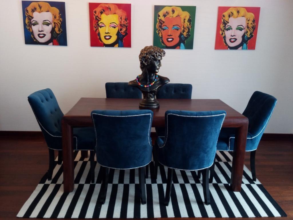 Pop-art we wnętrzach domu