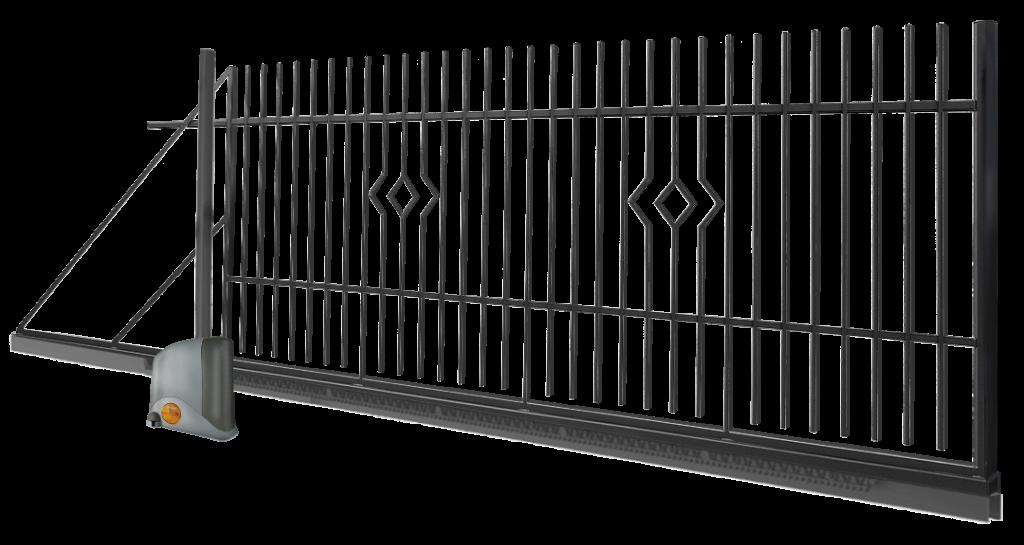 Brama wjazdowa otwierana na żądanie