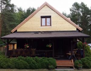 Wymiana elewacji na drewnianym domu
