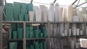Doniczki plastikowe