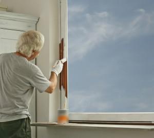 Fenster Streichen