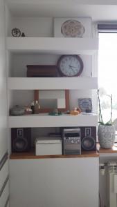 Podświetlane półki z płyt g-k