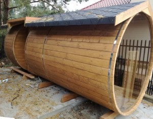 Sauna ogrodowa
