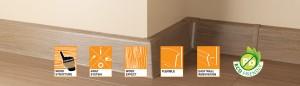 Listwy Lars – dobry sposób na efektowną podłogę (fot. Arbiton)