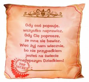 Poduszki – pomysł na prezent na Dzień Babci i Dziadka