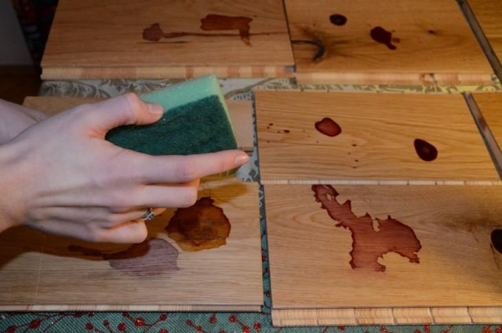 Test drewnianych posadzek trójwarstwowych