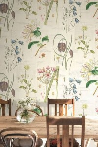 Modne motywy kwiatowe na tapetach