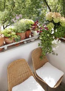 Meble na mały balkon