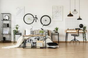 Motyw roweru we wnętrzach