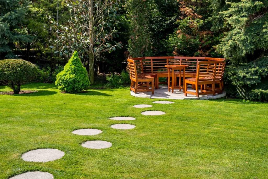 Geometria w ogrodzie