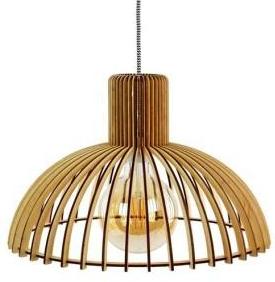 Oryginalne lampy z drewna