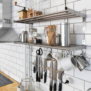 Reling w kuchni