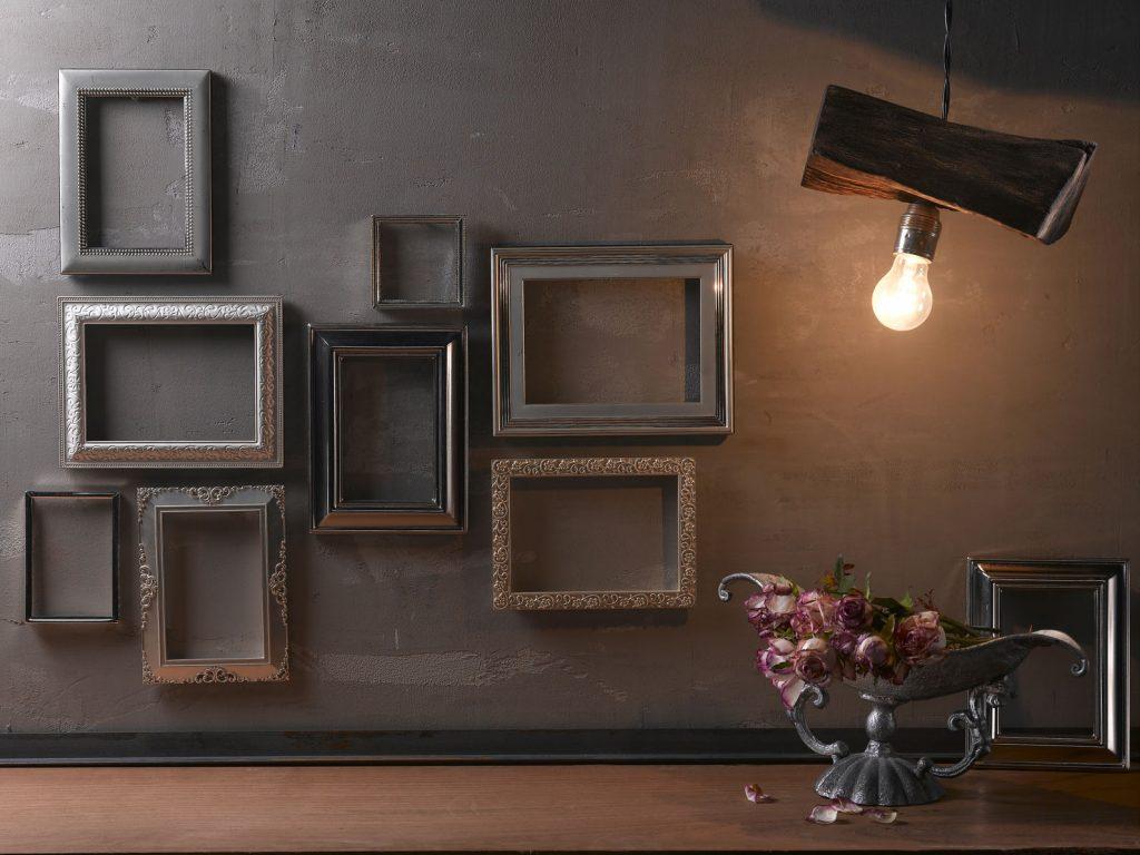 Nie z jednej bajki – czyli różne rodzaje ramek na ścianie